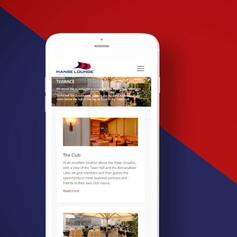 Hanse Lounge Website