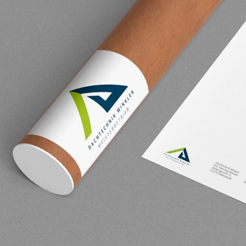 Dachtechnik Winkler – Corporate Design, Prints